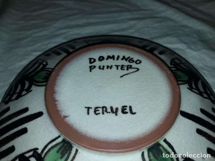Ceniceros: Bello cenicero de cerámica Domingo Punter Teruel - Foto 5 - 191430087