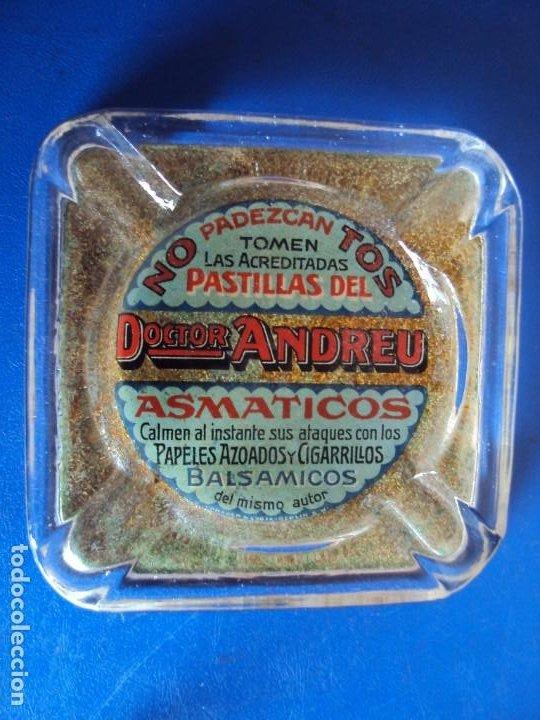 (PUB-200190)CENICERO PUBLICITARIO DOCTOR ANDREU (Coleccionismo - Objetos para Fumar - Ceniceros)