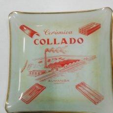 Ceniceros: CENICERO CERÁMICA COLLADO. ALMANSA, ALBACETE.. Lote 194200153