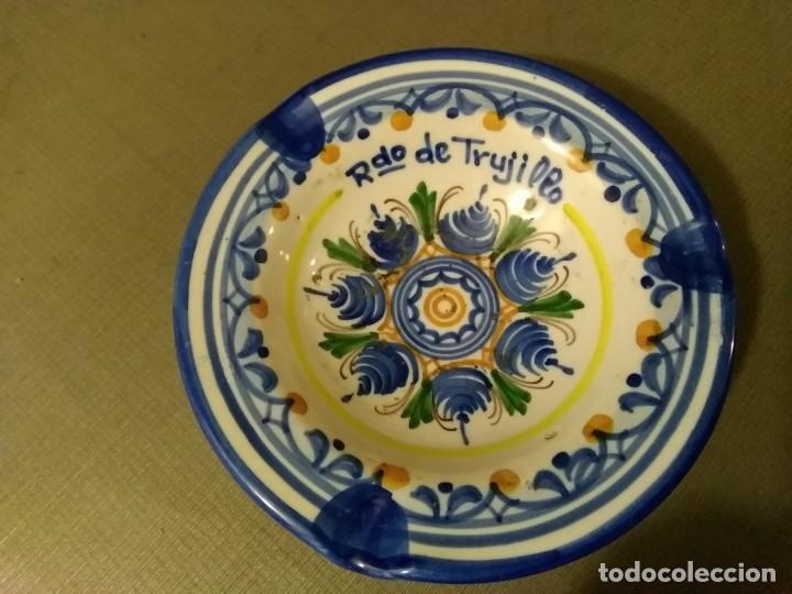 Ceniceros: Cenicero cerámica A. H. Puente del Arzobispo - Foto 4 - 194733737