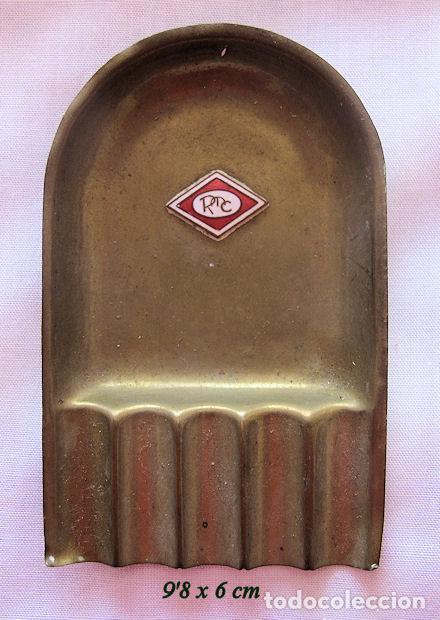 CENICERO ANTIGUO A IDENTIFICAR CON ESMALTE (Coleccionismo - Objetos para Fumar - Ceniceros)