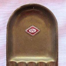Ceniceros: CENICERO ANTIGUO A IDENTIFICAR CON ESMALTE . Lote 194859381