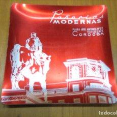 Ceniceros: SANTIGUÓ CENICERO CON PUBLICIDAD PAÑERÍAS MODERNAS. CÓRDOBA. Lote 194897175