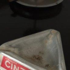 Ceniceros: ANTIGUO CENICERO PUBLICIDAD CINZANO. Lote 195333710