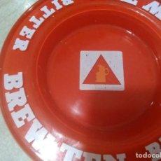 Ceniceros: CENICERO CRISTAL BITTER BREW TEN. Lote 195505740