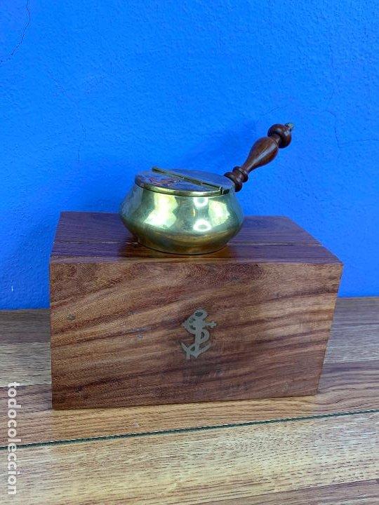 Ceniceros: Cenicero de barco o marino nuevo a estrenar en caja - Magnifico - Foto 2 - 196389908