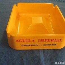 Ceniceros: CENICERO CERVEZA AGUILA IMPERIAL. NUEVO A ESTRENAR. EN CAJA ORIGINAL. Lote 198586662