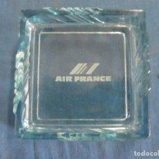 Ceniceros: CENICERO AIR FRANCE. CRISTAL. Lote 198587356