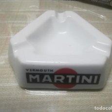 Ceniceros: CENICERO VINTAGE DE PUBLICIDAD MARTINI PORCELANA SANTA CLARA VIGO MIREN FOTOS . Lote 198851737