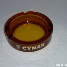 Ceniceros: CENICERO DE CRISTAL - CYNAR.15 CM.. Lote 200506651