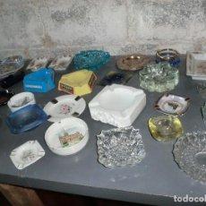 Ceniceros: INCREIBLE COLECCION DE CENICEROS VINTAGE DE ALTA CALIDAD MUCHOS DE ELLOS. Lote 203111908