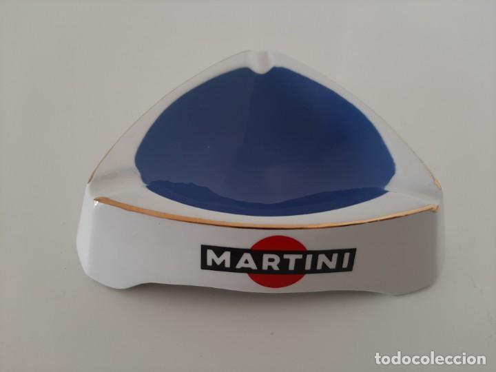 CENICERO MARTINI. MOULIN DES LPOUPS. (Coleccionismo - Objetos para Fumar - Ceniceros)