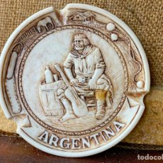 Ceniceros: DECORATIVO CENICERO ARGENTINA. Lote 205765838