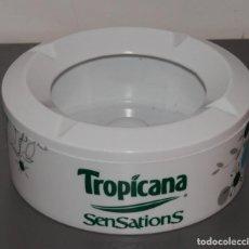 Ceniceros: CENICERO DE LA MARCA TROPICANA SENSATIONS. Lote 206574115