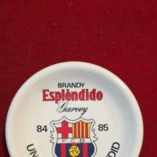 Ceniceros: CENICERO FC BARCELONA BRANDY ESPLENDIDO GARVEY TEMPORADA 84/85. Lote 208040568