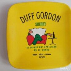Ceniceros: PLATO CENICERO DUFF GORDON- EL SHERRY MAS APRECIADO DEL MUNDO. Lote 210672954