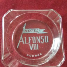 Ceniceros: CENICERO ANTIGUO CRISTAL HOTEL ALFONSO VIII (CUENCA). Lote 214276171