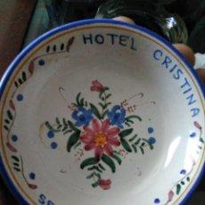 Ceniceros: CENICERO HOTEL CRISTINA (SEVILLA). Lote 214359288