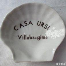 Ceniceros: ANTIGUO CENICERO CASA URSI VILLABRAGIMA ( CTC ). Lote 214722561