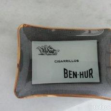 Ceniceros: CENICERO CRISTAL CIGARRILLOS BEN-HUR. Lote 215133671
