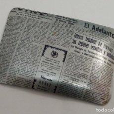 Ceniceros: CENICERO DE ALUMINIO EL ADELANTO RECORTE DE PRENSA. Lote 222112313