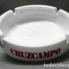 Ceniceros: CENICERO PUBLICITARIO CRUZCAMPO - CENICERO-85. Lote 222648110