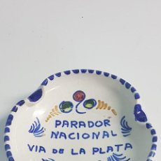 Ceniceros: CENICERO DE CERÁMICA- PARADOR NACIONAL MÉRIDA. Lote 222718702