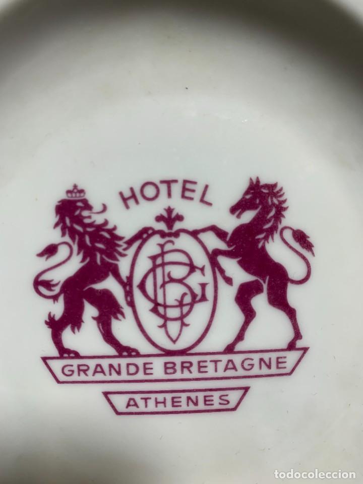 Ceniceros: CENICERO CERAMICA HOTEL GRANDE BRETAGNE ATHENES 14CMS - Foto 5 - 230161580