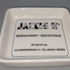 Ceniceros: CENICERO RESTAURANT-DISCOTEQUE JAKIE O ROMA. Lote 235412100