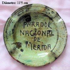 Ceniceros: CENICERO ANTIGUO PARADOR NACIONAL DE MÉRIDA. Lote 236762845