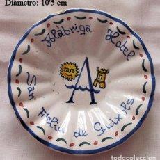Ceniceros: CENICERO ANTIGUO ALBRIGA HOTEL SAN FELIU DE GUIXOLS GERONA. Lote 236763225