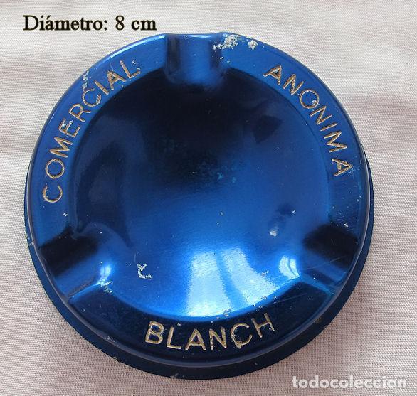 CENICERO VINTAGE COMERCIAL BLANCH (Coleccionismo - Objetos para Fumar - Ceniceros)