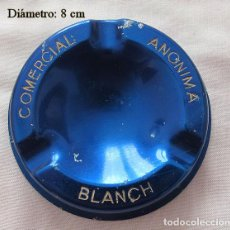Ceniceros: CENICERO VINTAGE COMERCIAL BLANCH. Lote 236764220