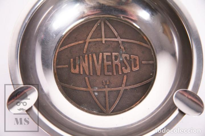Ceniceros: Cenicero Publicitario de Metal - Universo SA - Diámetro 14,5 cm - Foto 2 - 237040515