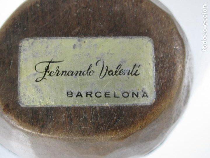 Ceniceros: Cenicero Plateado y en Madera - Monedas de Plata, Isabel 2 Año 1866 - Sello Fernando Valentí - Foto 11 - 240237455