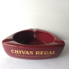 Ceniceros: CENICERO PUBLICITARIO WHISKY CHIVAS REGAL. MADE IN ENGLAND. 12 YEARS OLD SCOTCH WHISKY. Lote 253061495