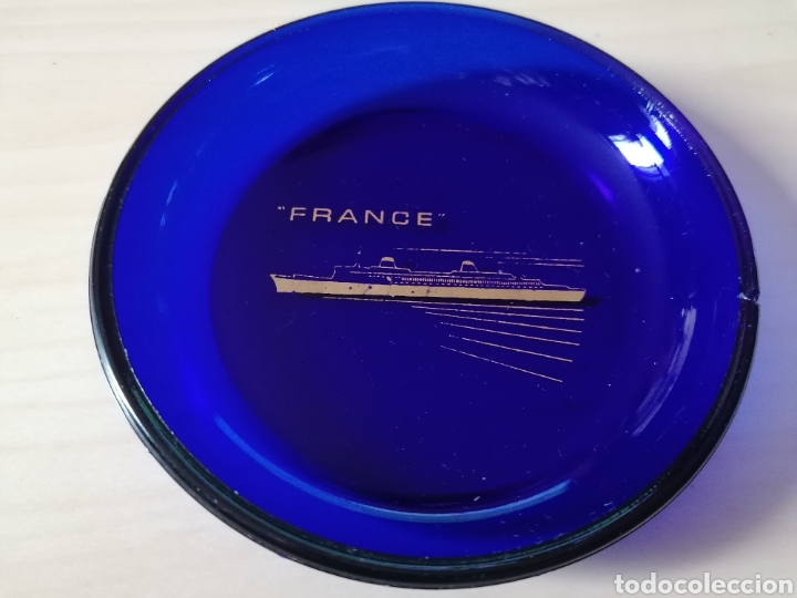 ANTIGUO CENICERO FRANCE (Coleccionismo - Objetos para Fumar - Ceniceros)