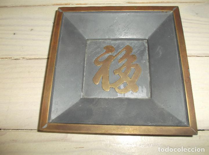 CENICERO DE METAL MADE IN HONG KONG (Coleccionismo - Objetos para Fumar - Ceniceros)