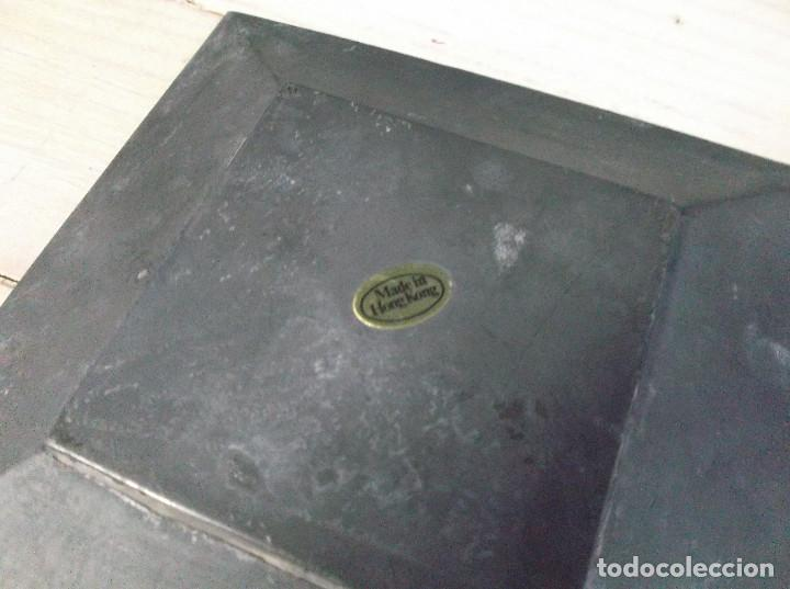 Ceniceros: Cenicero de metal made in Hong Kong - Foto 2 - 269981763