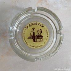 Ceniceros: CENICERO DE CRISTAL LE GRAND CAFE CAPUCINES PARIS. Lote 270235623