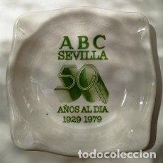 Ceniceros: CENICERO, A.B.C. SEVILLA 50 AÑOS AL DIA 1929 - 1979. Lote 277643753