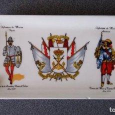 Ceniceros: CENICERO ARMADA ESPAÑOLA INFANTERIA DE MARINA. Lote 278198183