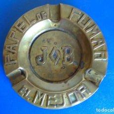 Ceniceros: (PUB-211011)CENICERO PUBLICITARIO PAPEL DE FUMAR JOB EL MEJOR. Lote 295852263