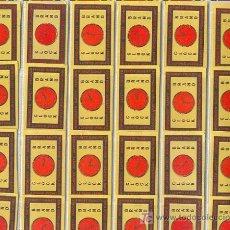 Cajas de Cerillas: ETIQUETAS DE CAJAS DE CERILLAS DE BELGICA - COLECCION COMPLETA. Lote 3543633