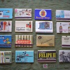 Cajas de Cerillas: CAJAS DE CERILLAS: PUBLICITARIAS AÑOS 60-70. Lote 26438623