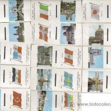 Cajas de Cerillas: COLECCION COMPLETA 30 PORTADAS CAJAS DE CERILLAS BANDERAS Y MONUMENTOS.. Lote 25178568