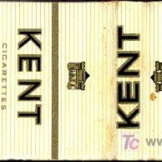 Cajas de Cerillas: CERILLAS - CIGARRILLOS KENT. Lote 5730764