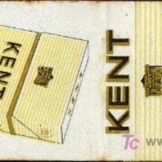 Cajas de Cerillas: CERILLAS - CIGARRILLOS KENT. Lote 5730770