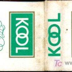 Cajas de Cerillas: CERILLAS - CIGARRILLOS KOOL - MADE IN USA. Lote 5730851
