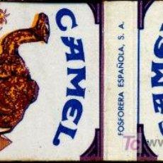 Cajas de Cerillas: CERILLAS - CIGARRILLOS CAMEL. Lote 5730984